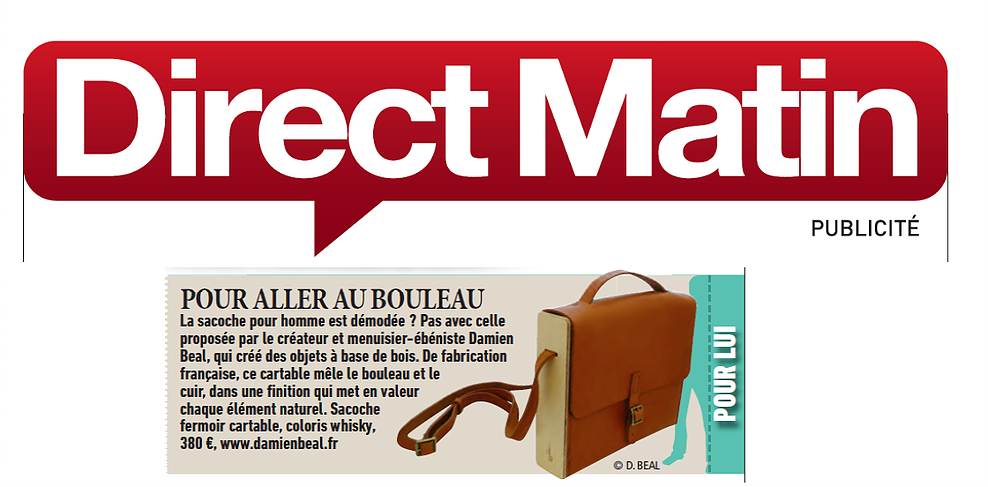 Decembre-2014-Direct-Matin-damien-beal-sac-bois-cuir-cartable