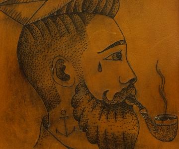 Sac tatoué, Artisan Tatoueur