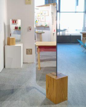 Miroir-paravent à la Biennale Émergences au Centre National de la Danse à Pantin en 2018, De l'autre côté du miroir