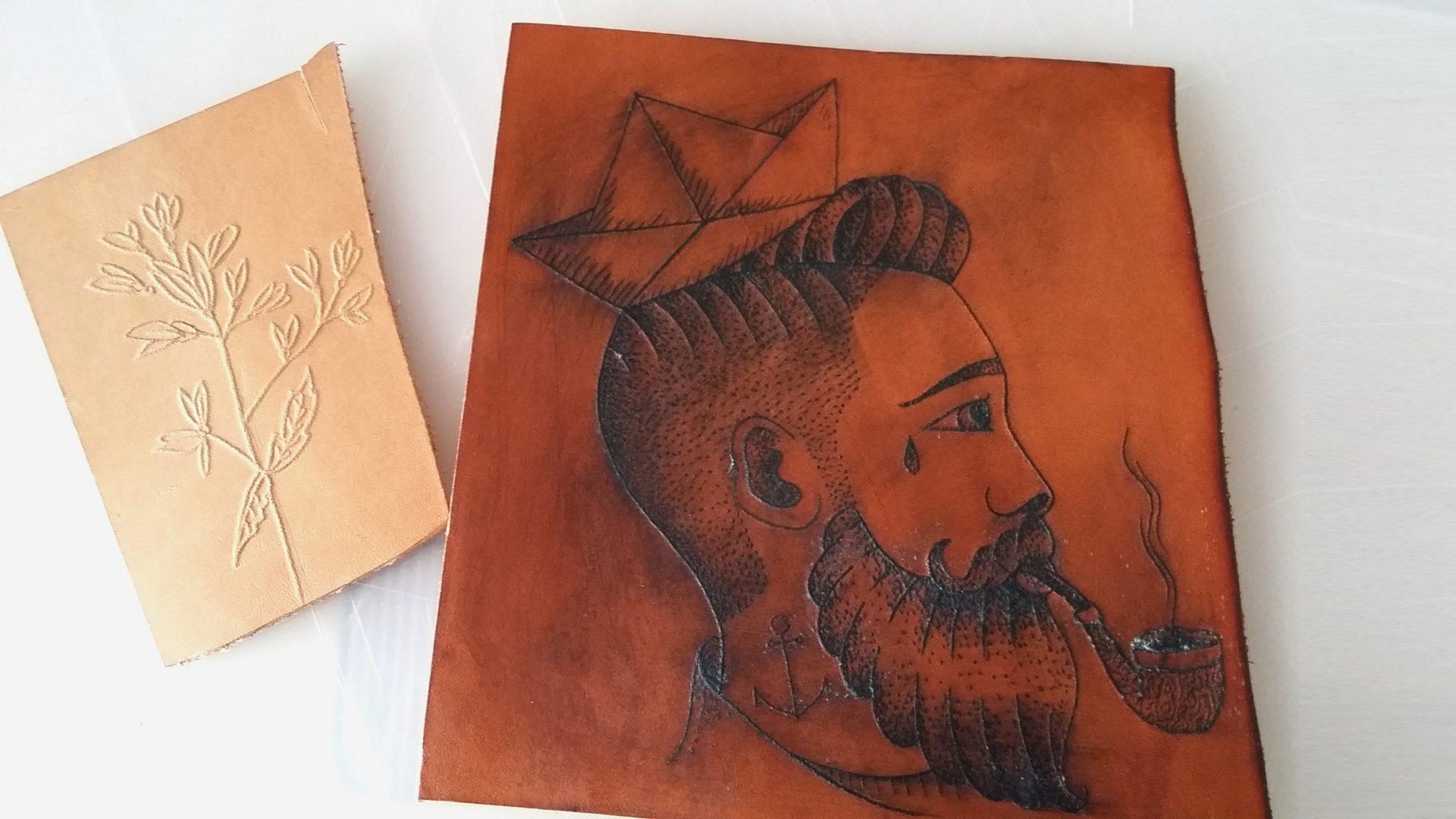 sac-bois-cuir-damien-beal-colalboration-tatouage-artisan-tatoueur