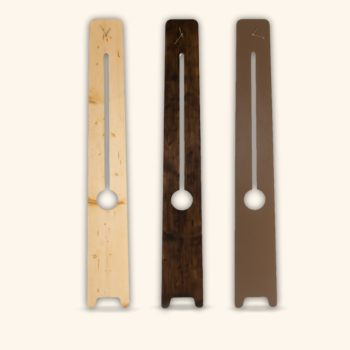 La Comtoise, horloge moderne en bois, Damien Béal