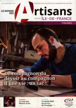 Article de Le Monde des Artisans