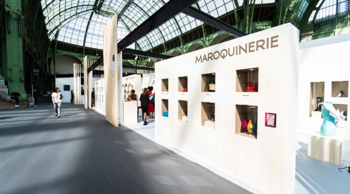 Stand du Conseil National du Cuir, Biennale Révélations 2019 au Grand Palais à Paris