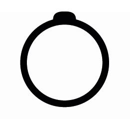 pictogramme anneau bijou