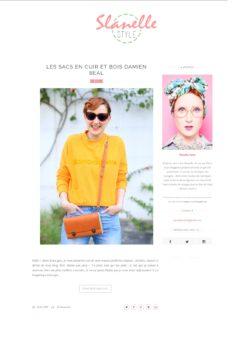Extrait du blog Slanelle Style