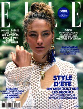 Article sur l'étui de boules de pétanque, Le Bouliste dans le magazine Elle