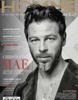 Article dans le magazine masculin Homme Deluxe
