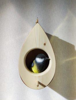 La Mangeoire, oiseau mésange, salon Maison et Objet, Espace Craft, janvier 2020